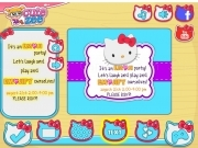 Jeu Hello Kitty emojify my party